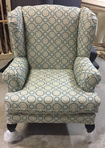 Order New Wing Chair with the fabric you want $470