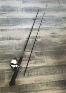 Fishing Rod and Reel (Shakespeare Ugly Stik with Rhino Reel.)