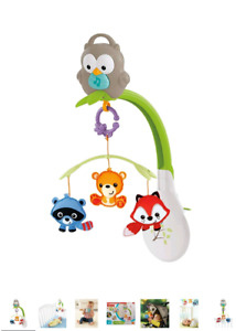 Fisher-Price Woodland Friends 3-In-1 Musical Mobile Toy