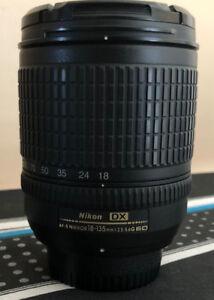 Nikon 18-135mm G ED DX Lens Excellent Condition