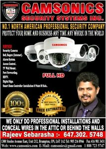 security cameras free installation