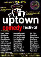 Uptown Comedy Festival at Club Rewind