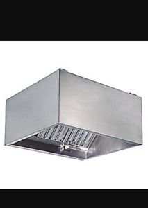 4 foot stainless steel hood only