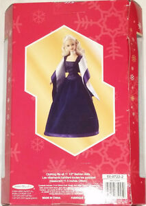 Qty 4 x Barbie Holiday Magic Dolls Red, Blue, Green Dresses NEW London Ontario image 4