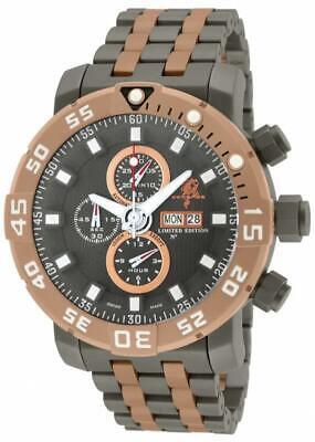 Invicta 14232 53mm Sea Base LE 12/99 Swiss Valjoux 7750 Titanium Mens Watch