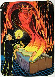 Poster velours fluorescent
