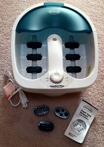 Dr. Scholl's Foot Spa Deluxe with Bubbles & Massage Attachments