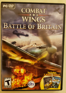 Video Game PC Combat Wings Battle of Britan