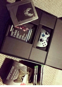 Limited edition Halo Xbox one 1 TB console and controllers