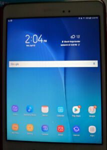 """Samsung Galaxy Tab A SM-T350 8.0"""" 16 GB Android WHITE with Tuca"""