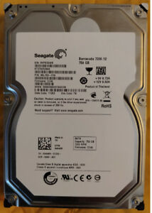 "Seagate BarraCuda 750GB 7200 RPM 3.5"" SATA HDD (2 Drives)"