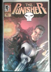 The Punisher Vol.3 #1  2000 Dynamic Force Chrome Cover w/COA