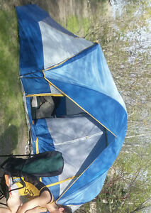 very large 7 person tent