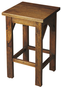 Solid Wood Bar or Counter Height Stools