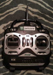 "RC Airplane Transmitter, Parkzone ZX10  """"Excellent Condition"""""