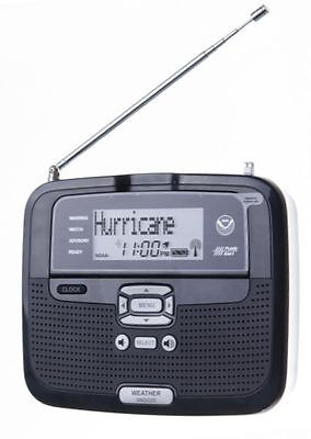 Radio Shack SAME All Hazards Desktop Weather Alert Radio NOAA - 12-521