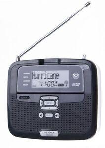 Radio Shack SAME All Hazards Desktop Weather Alert Radio NOAA - 12-521