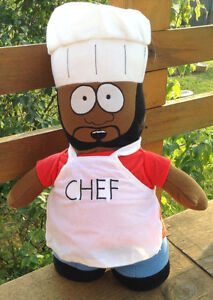 "SOUTH PARK CHEF 12"" PLUSH TOY DOLL FIGURE NANCO MWT Gatineau Ottawa / Gatineau Area image 2"