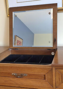 Solid Wood Mid-Century Dresser