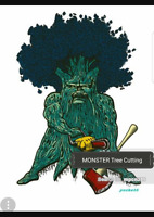 MONSTER Tree cutting (204)801-1233