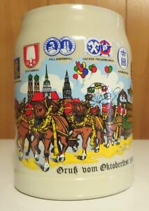 1986 Oktoberfest Mug from Germany