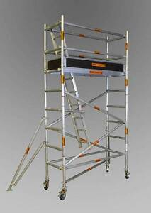 Synergy Scaffolding Aluminium – (Dimensions: 0.7m x 2.0m x 3.0m) Revesby Bankstown Area Preview