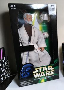 "Star Wars ""Obi-Wan Kenobi"" (1998) 12 inch figure - POTF"