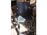Adult Wheelchair with Leg support £80.00 cash