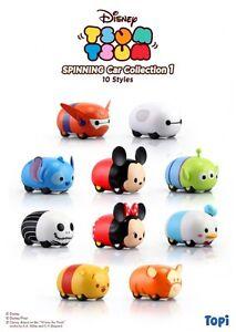Disney Tsum Tsum Spinning Car Collection 1 Topi 10 Styles Nuovo New - Italia - L'oggetto può essere restituito - Italia