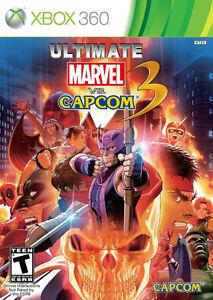Ultimate Marvel vs Capcom 3 for Xbox 360