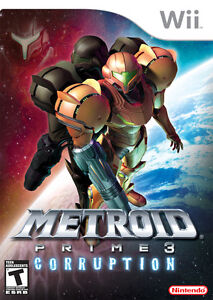 Metroid Prime 3 Corruption on Wii