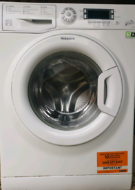 Hotpoint washing machine 8kg A+++