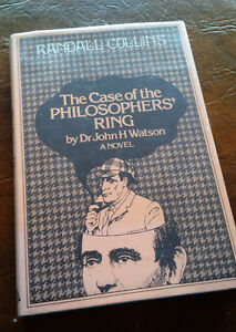 The Case of the Philosophers' Ring, Dr. John H. Watson Kitchener / Waterloo Kitchener Area image 1