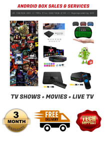 Elite Android TV Boxes (Brand New!)