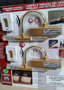 Brand New in Package Wireless LED Picture Lights
