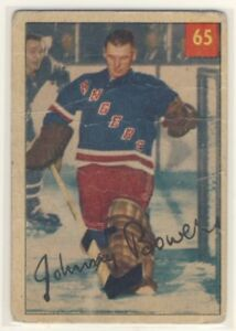 JOHNNY BOWER ... ROOKIE CARD .. not graded - poor-fair condition