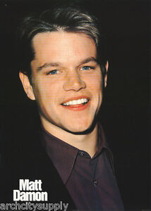 Poster actor matt damon very young free shipping pf2109 for Matt damon young