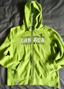 OFFICIAL 2010 VANCOUVER WINTER OLYMPICS HOODY