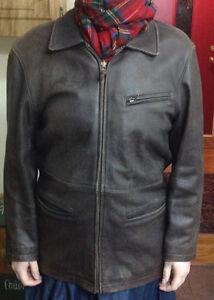 ROOTS  vintage leather jacket. women's medium $25