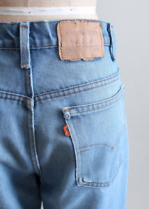 Vintage Levis Jeans 32 = 36 Waist / Exc Shape / Perfectly Faded