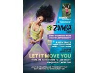 Weekly Zumba classes in central Bristol!