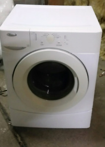 Whirlpool front load washer works great