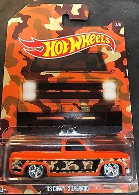 Hot Wheels Super CUSTOM 83 Chevy Silverado with Real Riders Walmart Exclusive - Walmart Custome