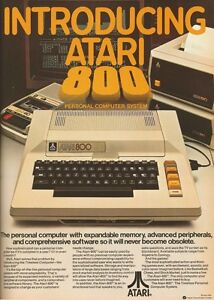 Selling Atari 800 Collection-Keyboard broken-All else pristine