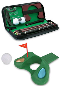 PORTABLE GOLF PUTTER SET. BUY  IT FOR YOURSELF OR AS A GIFT!