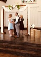 Wedding Officiant for quick elopements and weddings