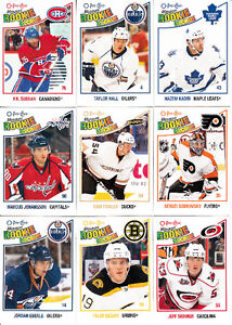 2010-11 O-PEE-CHEE SERIE COMPLETE 1-620
