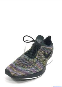 Nike mens air zoom flyknit race black multi color.Sz - 9.5 US