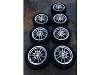 Ripspeed 15 inch Alloy Wheels x7
