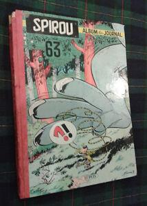 Album du journal SPIROU No 63 -- 1957 Bandes dessinées